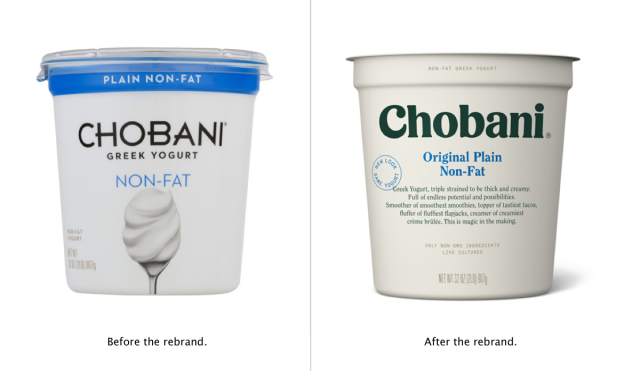 Chobani Rebrand